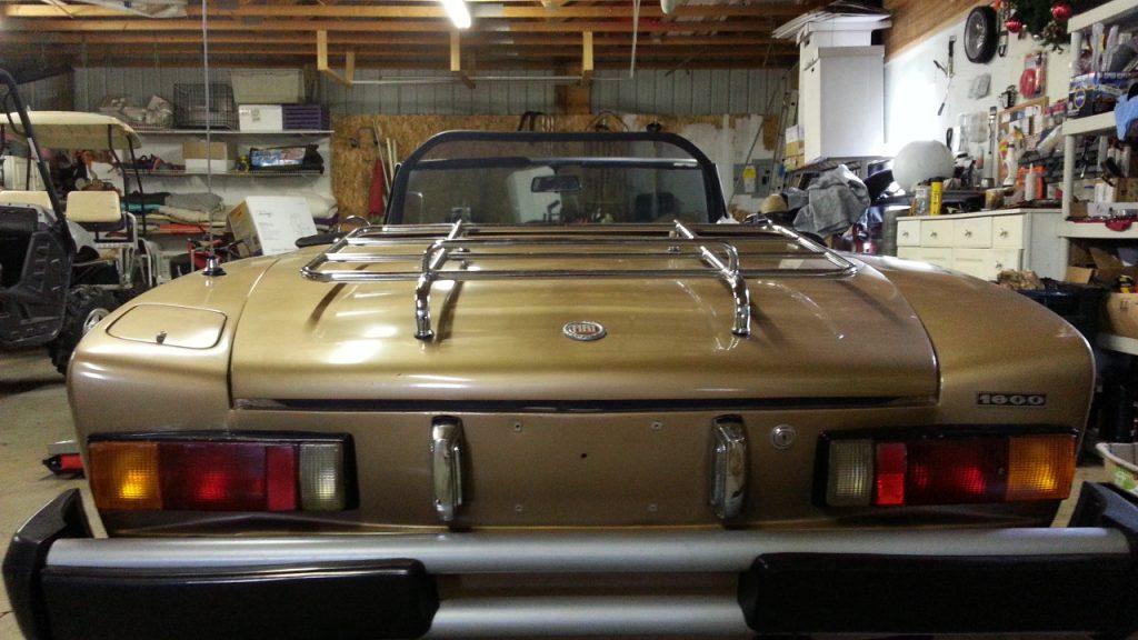 Original Fiat Spider Taillights
